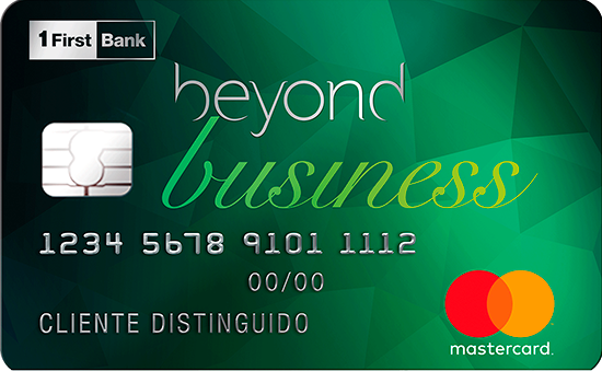 Photo Beyond Business Mastercard