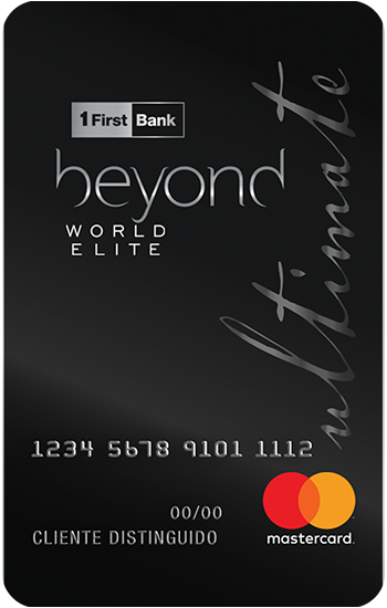 Foto Beyond Ultimate Mastercard World Elite